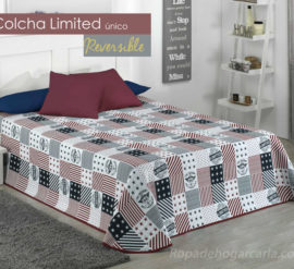 COLCHA reversible - Limited único con relieve
